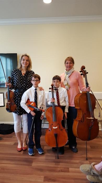 Tania and Issac violin